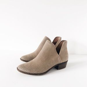 Lucky Brand Baley/Bashina Perforated Ankle Bootie